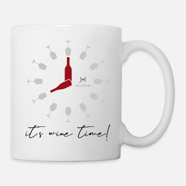 John Maiolo It's wine time - Mug