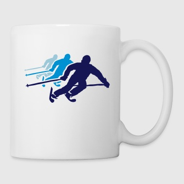 ski resort skies ski area skiing - Mug