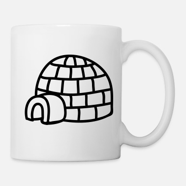 Winter Iglu - line - Tasse