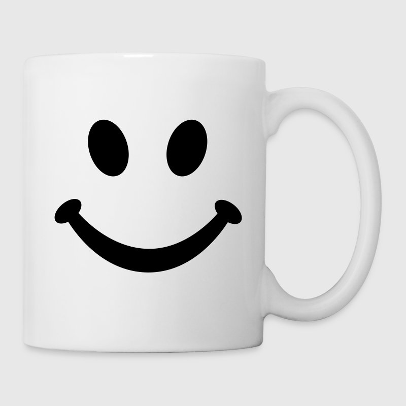 Smiley Sourire - Mug blanc
