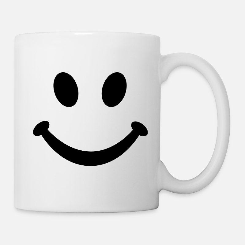 Face Mugs & Drinkware - Smiley Smile - Mug white