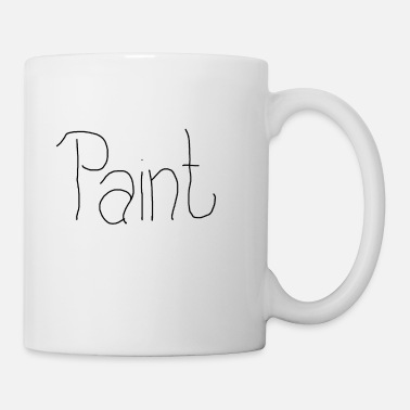 Painter Paint - Tasse
