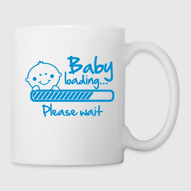 Baby loading - please wait - Mug