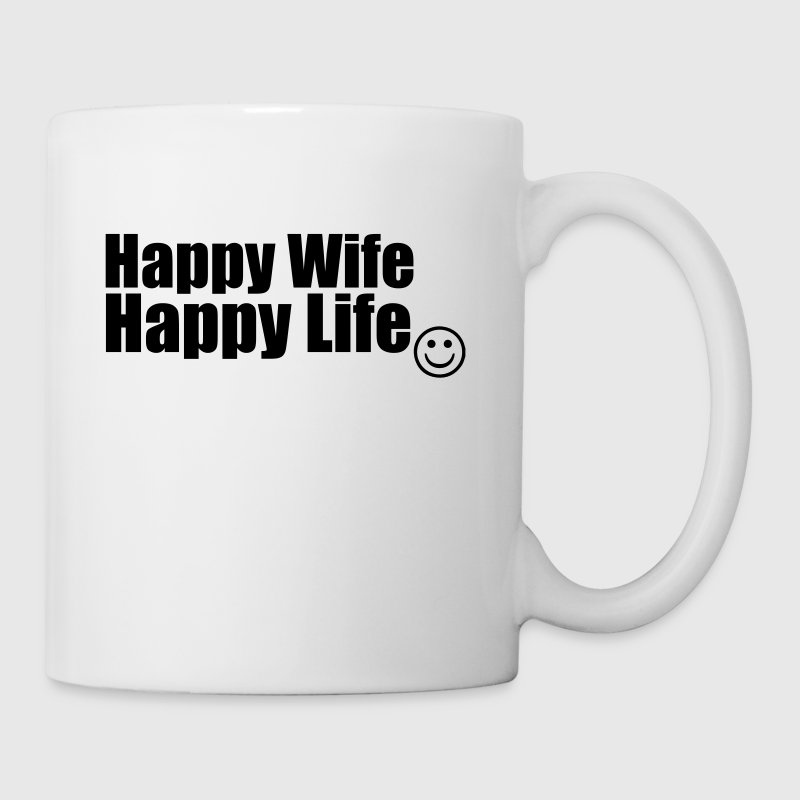 Happy Wife, Happy Life - Kubek