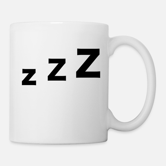 Bed Mugs & Drinkware - Sleep - Mug white