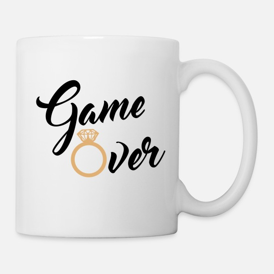 Game Over Tassen & Becher - game over - Tasse Weiß