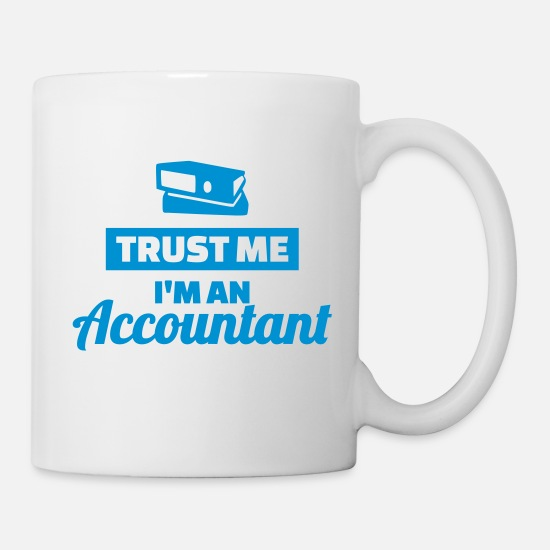 Accountant Mugs & Drinkware - Accountant - Mug white