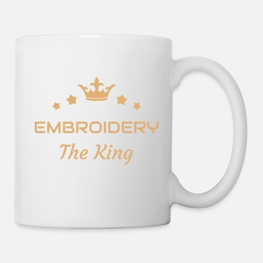 Machine Embroidery Stickerei Broderie Embroiderer Brodeuse - Mug