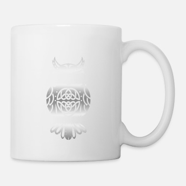 Ornament Celtic symbols owl Celtic knot gift - Mug