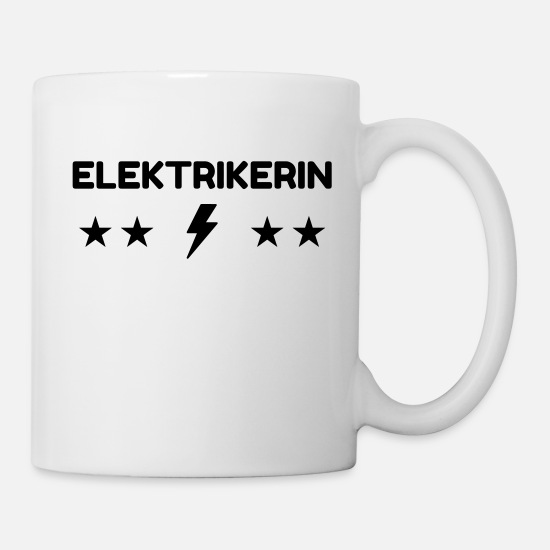 Repair Mugs & Drinkware - Electrician / Electricien / Elektriker / Electric - Mug white