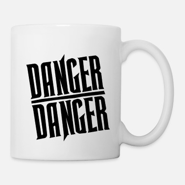 Hawk Black Danger Danger - Mug