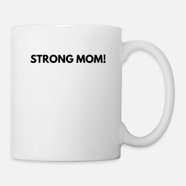 Weights Strong mom! - Mug