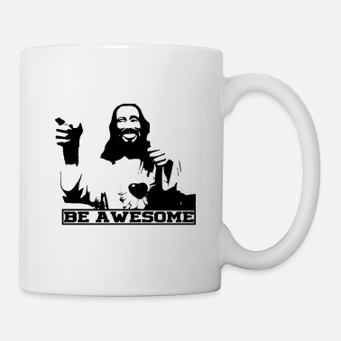Be Awesome Jesus - Tasse