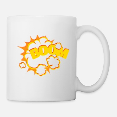Explosion Boom Explosion Comic Style - Tasse