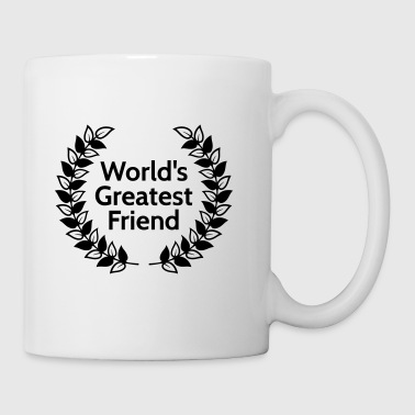 worlds greatest friend - Mug blanc