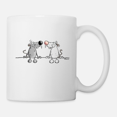 Rat Mice in Love - Mug