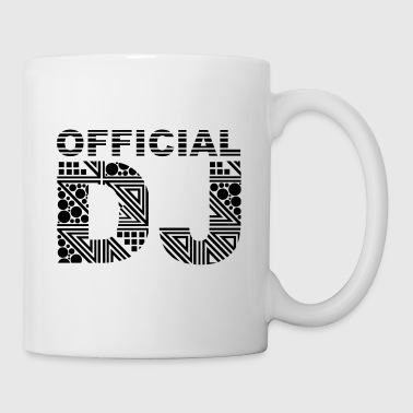 official DJ - Mug blanc