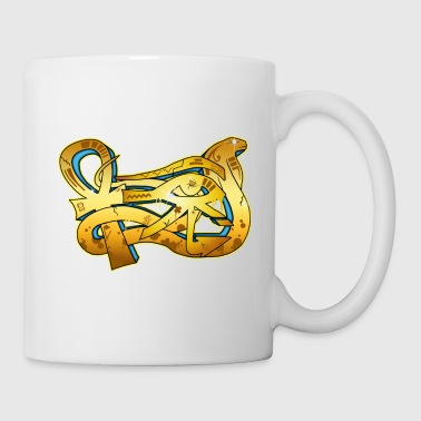 graffiti egypte - Mug blanc