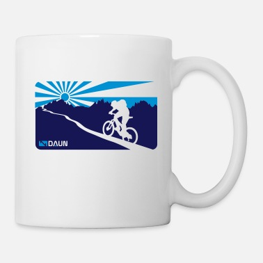 Mountainbike, trail,  - Mug