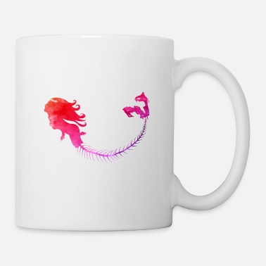 Mermaid pink - Tasse