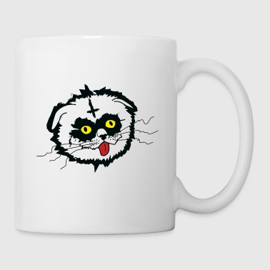 Black Metal Derp Cat - Mug
