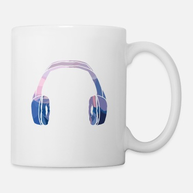 Headphones Headphone Headphones - Mug