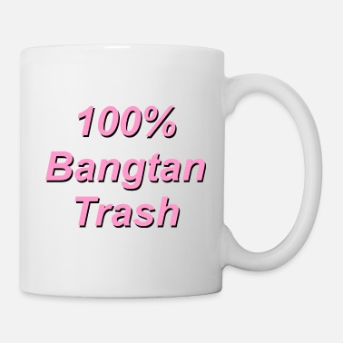Shouter 100% Bangtan Trash Quote - Mug