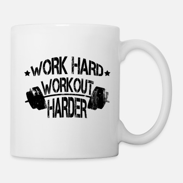 Workout Training Motivation Spruch - Tasse