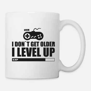Computer Game I Don t Get Older I Leve Up HARIZ Gamer Gaming Ges - Mug