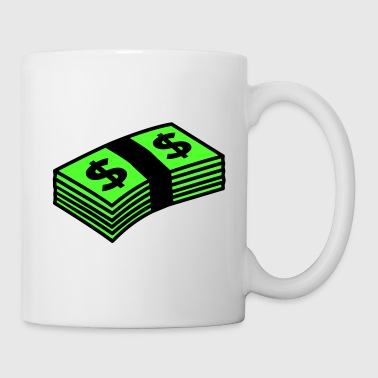 Money dollars Color - Mugg