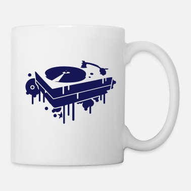 Turntable A record player - Mug