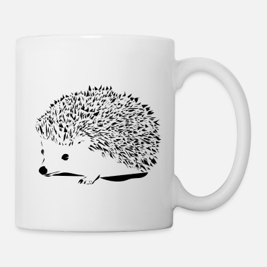 Hedgehog Black hedgehog - Mug
