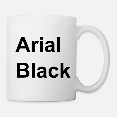 Font Arial Black Gift, font font font word - Tazza