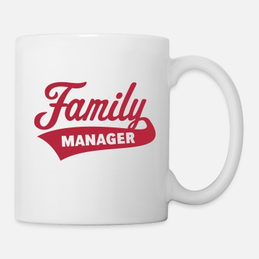 Fathers Day Family Manager - Mug