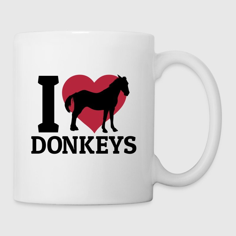I love donkeys - Mug