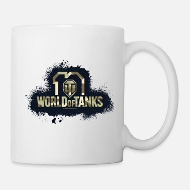 World of Tanks 10th Anniversary Camo Logo - Mug