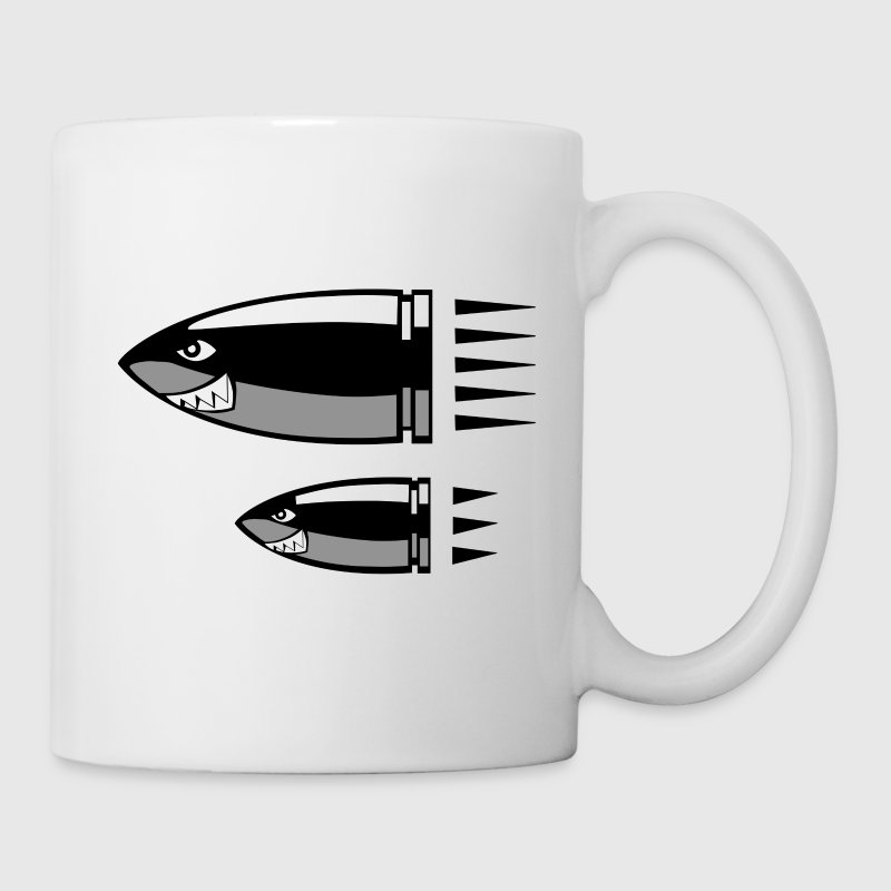 cartoon bullet - Mug