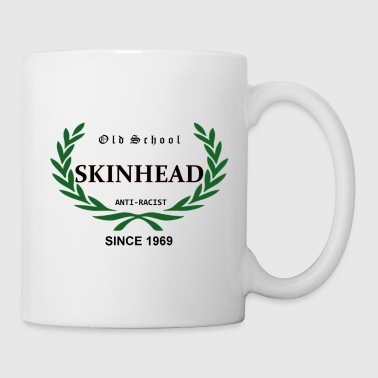 Old School Skinhead Anti-Racist Since 1969 - Tasse