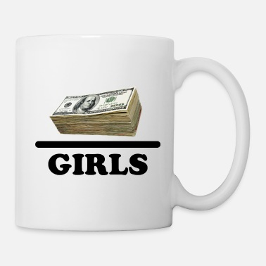 Moneygrubbing Money Girls Quote - Mug