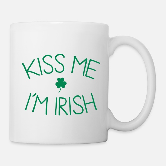 Festival Tazze & Accessori - kiss me im Irish cute - Tazza bianco