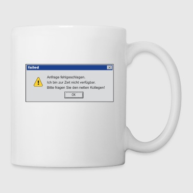 Error_Message - Tasse