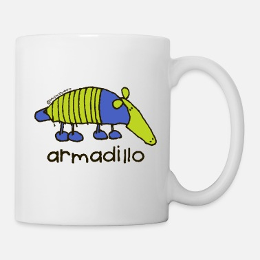 'armadillo'- Bang on the door - Mug