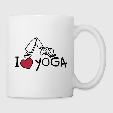I love yoga - Tasse