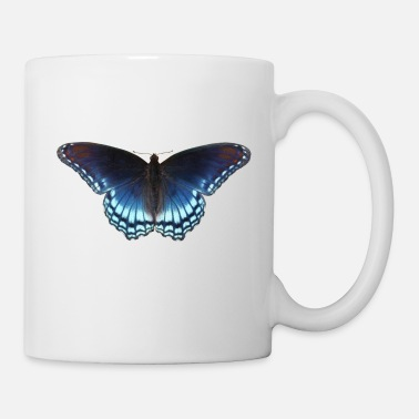 Butterfly in blue with great gradient - Mug
