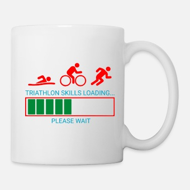 Leichtathletik Triathlon Swim Bike Run - Tasse