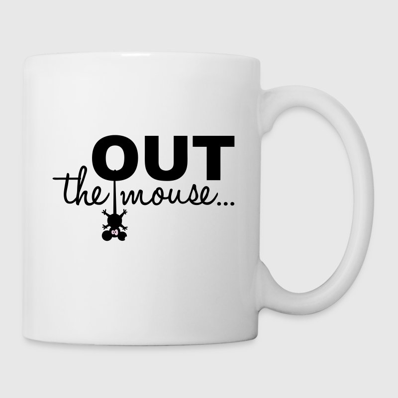 Out the mouse - Tasse