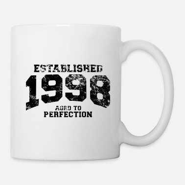 1998 established 1998 - aged to perfection - Tasse