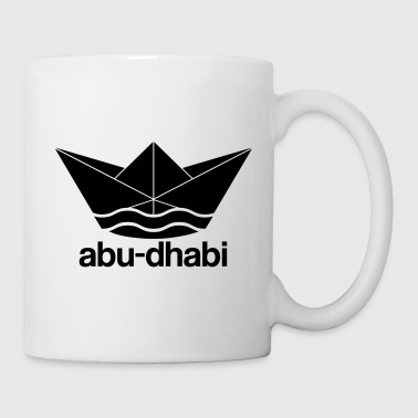 Cool Abu Dhabi paper ship design - Mug