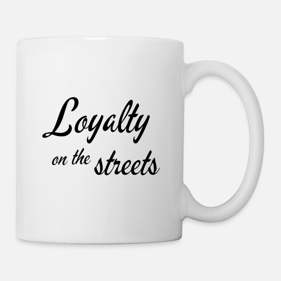 Skinhead Mugs & Drinkware - Loyalty on the streets - Mug white