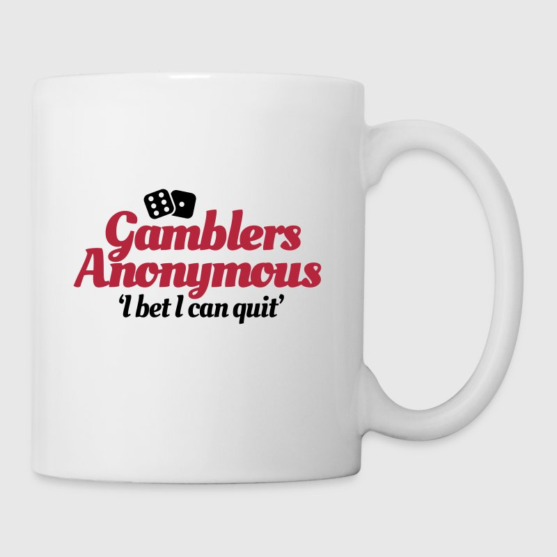 Gamblers Anonymous - I bet I can quit - Mug